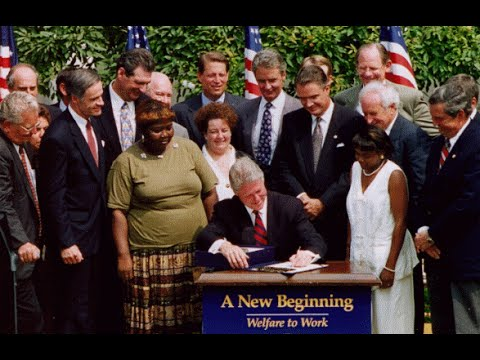 "1996 Welfare Reform: Democratic ""Mini-Revolt"""