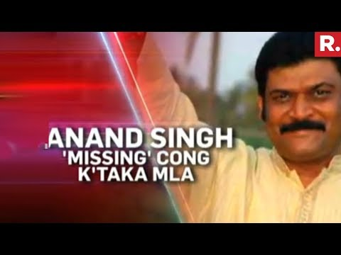 Republic TV Tracks Missing Congress MLA Anand Singh | EXCLUSIVE