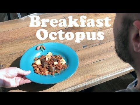 We Made Breakfast Octopus