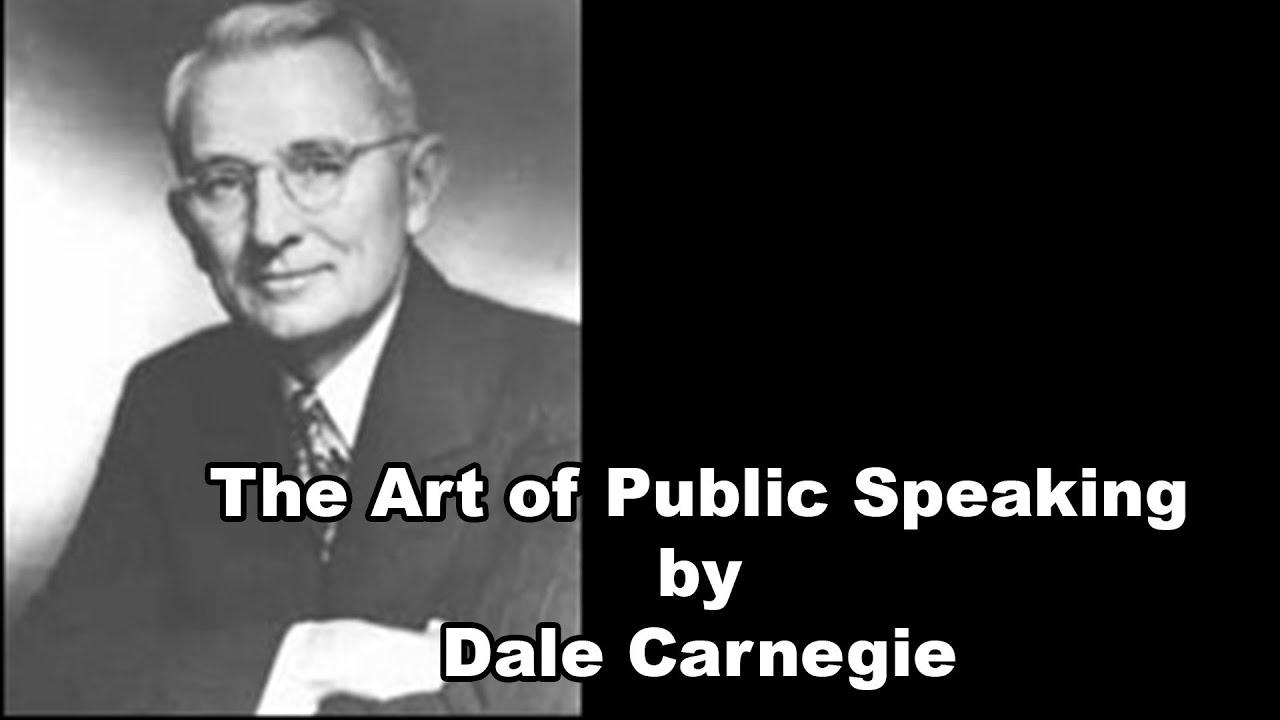 Dale Carnegie The Art Of Public Speaking Pdf