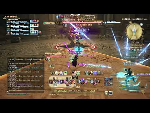 FFXIV: Stormblood Gameplay - 44 - Bard - The Drowned City of Skalla