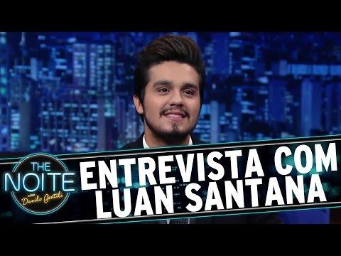 The Noite (23/02/16) - Entrevista Com Luan Santana