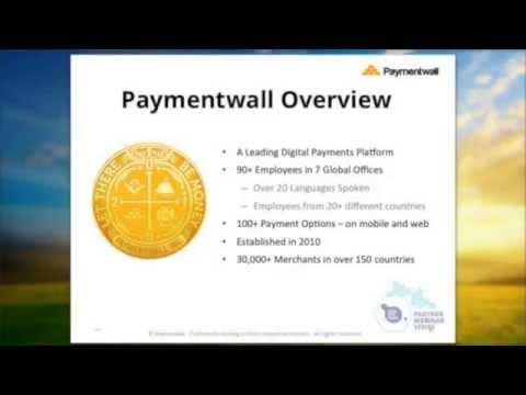 Paymentwall: Making Payments Human Again - Marmalade Webinar