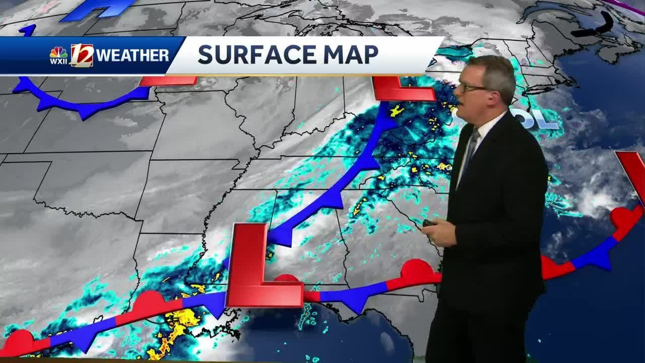 WXII 12 News WATCH: Soggy afternoon, then a drier, colder
