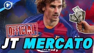 OFFICIEL : Antoine Griezmann signe au FC Barcelone | Journal du Mercato