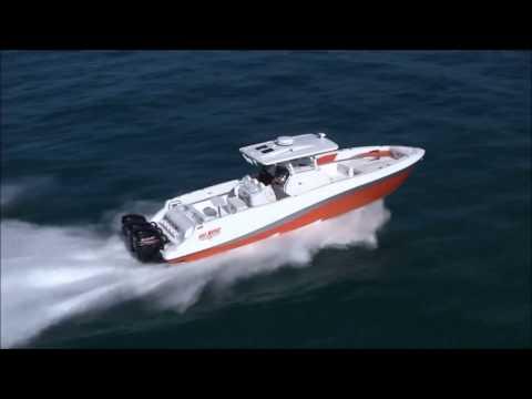 Deep Impact Boats aerial shoot January 2013