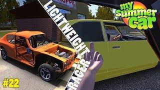 Fixing the Car - Racing the Yellow Car Guy | My Summer Car Shenanigans