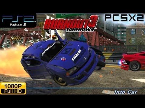 PS2&PSP Games Download: [PS2/ISO]Burnout 3 Takedown[2Part/Mega]