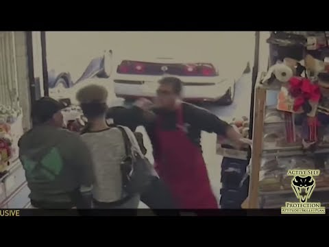 Clerk Takes a Huge Risk Confronting Chronic Shoplifters | Active Self Protection