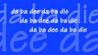Blue-Eiffel 65 Lyrics