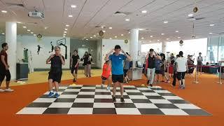 2019 06 09 HIIT @ Sports Hub Library