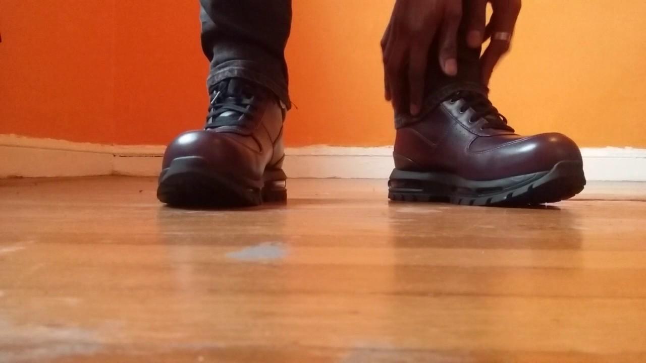 d803b9684b13 Nike Goadome ACG boots ON FEET - YouTube