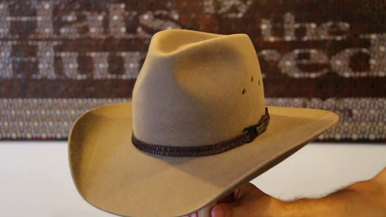 Akubra Golden Spur Bran Hat Review- Hats By The Hundred - YouTube c2019ab641bf