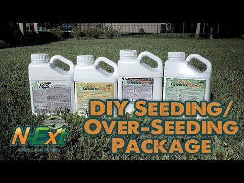 DIY Seeding/Over-Seeding Package // RGS + GreenePoP + GreeneStart + GreenePunch