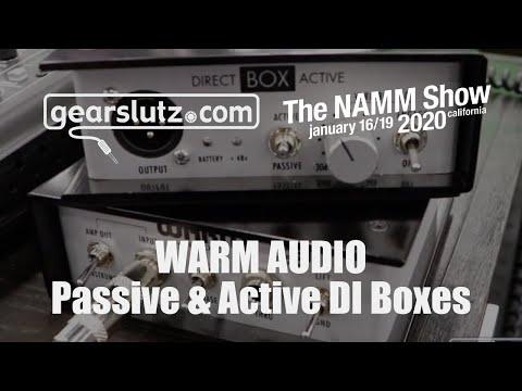 Warm Audio - New Passive & Active DI Boxes - Gearslutz @ NAMM 2020