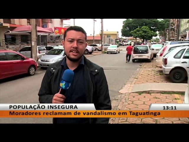 JL - Bandidos levam carro em Taguatinga Sul
