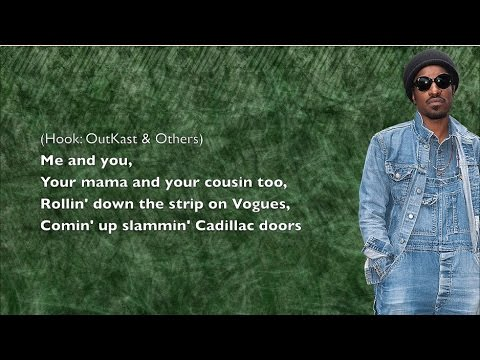 OutKast - Elevators (Me & You) - Lyrics