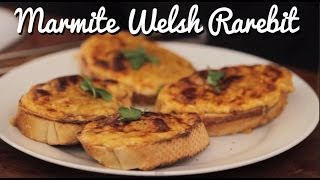 Marmite Welsh Rarebit - Crumbs