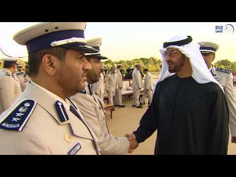 محمد بن زايد يستقبل وفدا من القيادة العامة لشرطة أبوظبي