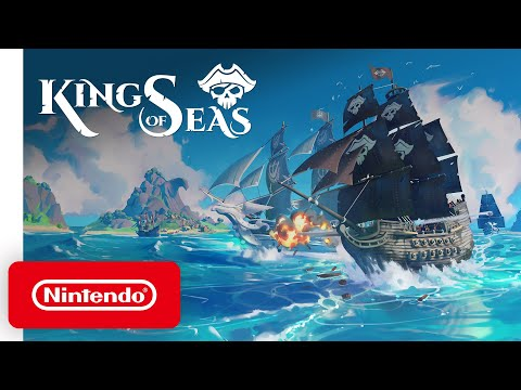 King of Seas - Announcement Trailer - Nintendo Switch