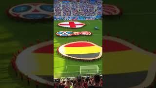 14/7/2018 ベルギー対イングランド 選手入場前