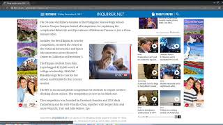 Globalnation.inquirer.net Malware Infection