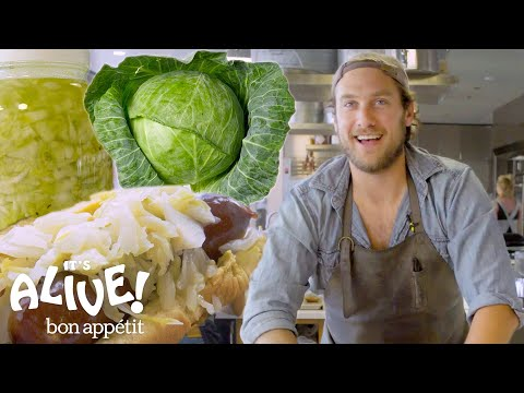 Brad Makes Sauerkraut | Its Alive | Bon Appétit