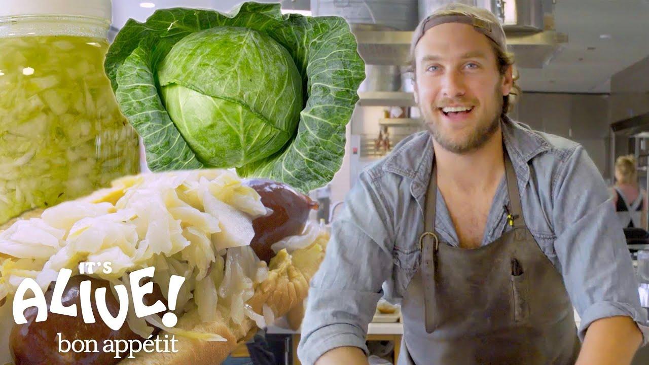Brad Makes Sauerkraut | It's Alive | Bon Appétit
