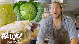 Brad Makes Sauerkraut | It\'s Alive | Bon Appétit