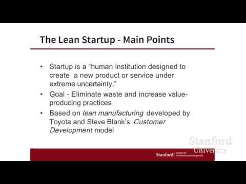 Stanford Webinar - Design Thinking vs. The Lean Startup