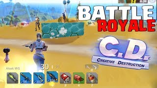 NEW BATTLE ROYALE FREE LIKE FORTNITE-CREATIVE DESTRUCTION-‹ 2Kill ›