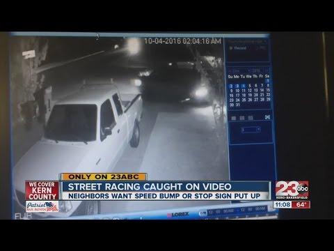 Street racing problem in SW Bakersfield neighborhood