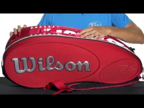 Wilson Federer LTD Edition 9 Pack Bag