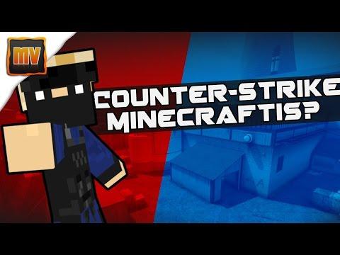 Counter-Strike Minecraftis? (Minecraft minimängud)