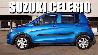 Suzuki Celerio (ENG) - Test Drive and Review