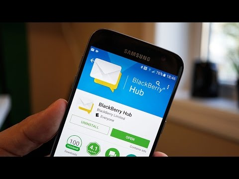 BlackBerry Hub for Android Quick Look: Good Old Days! | Pocketnow
