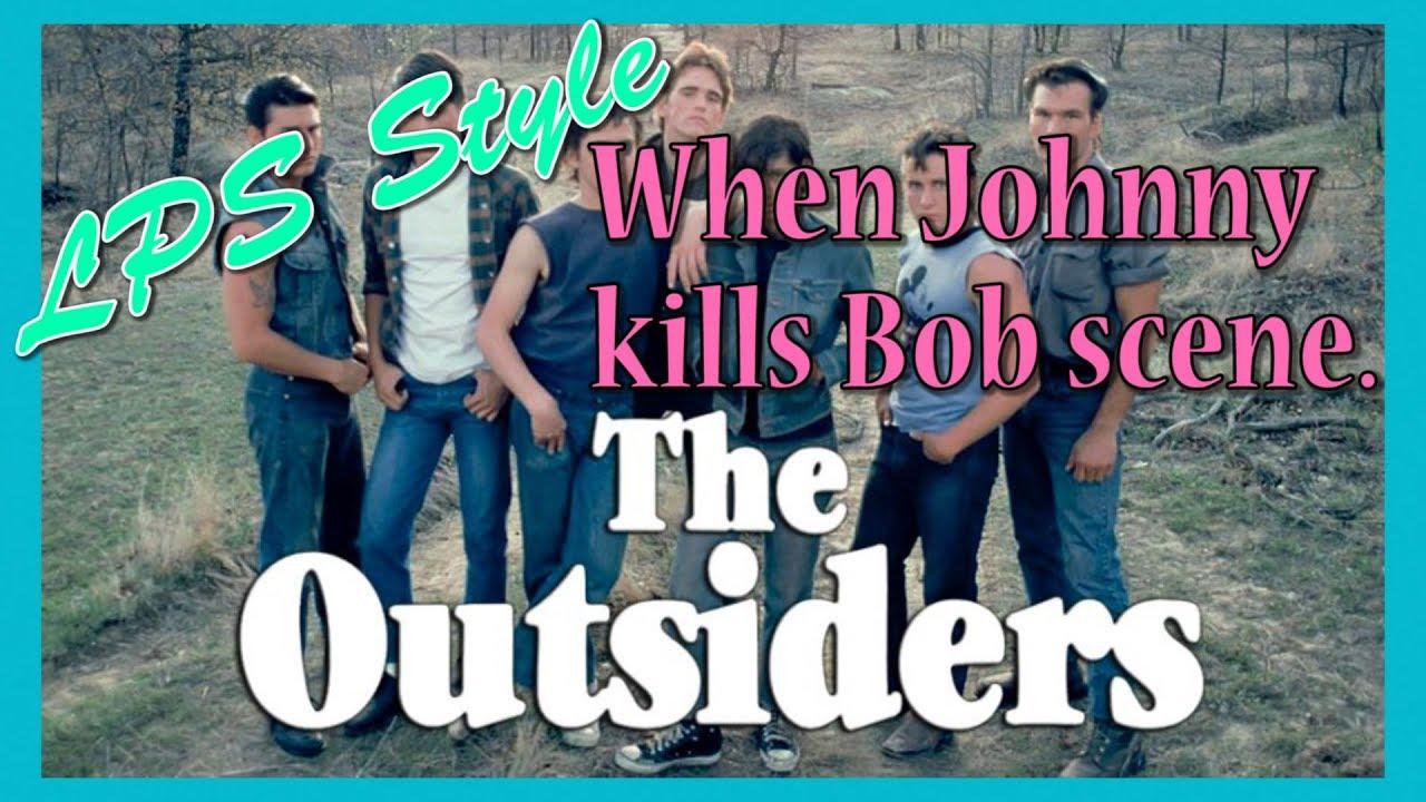 The Outsiders: Johnny kills Bob scene. - YouTube