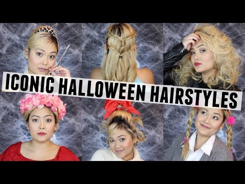 Iconic Hairstyles for Halloween // Hair Tutorial