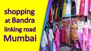 shopping at Bandra linking road, Mumbai   Top News Networks