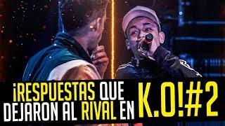 RESPUESTAS que DEJARON en K.O al RIVAL! PARTE 2 | Las MEJORES RESPUESTAS en Batallas de Rap