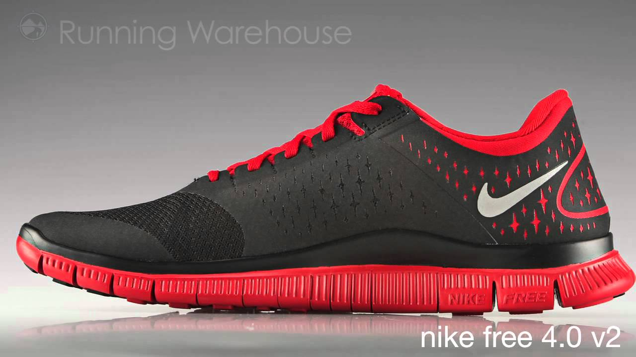 Nike FREE 4.0 V2 mens - YouTube