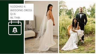 WEDDING DRESS Q + A with the founder of THE MODERN BRIDE | + MY WEDDING DRESS STORY
