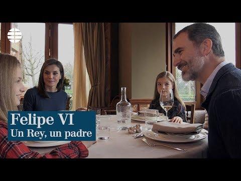 Felipe VI, un Rey, un padre
