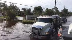 More flooded roads in Fort Myers Florida