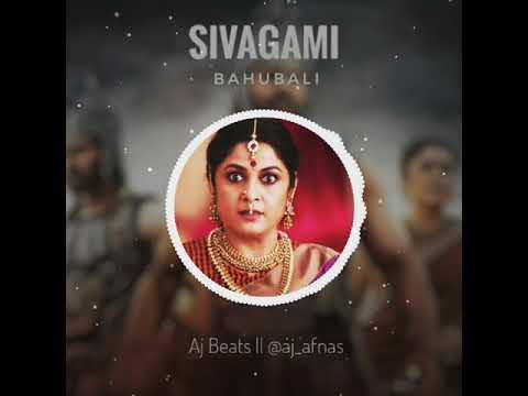 Shivagami Bgm    Bahubali Bgm