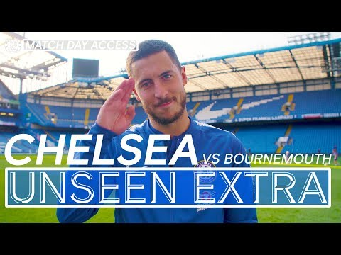 Tunnel Access: Hazard & Pedro Make It 4 Wins From 4 | Chelsea Vs Bournemouth | Unseen Extra