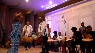 African Canadian Heritage Association - Azana and ACHA Drumming Collective 2014