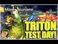 SUMMONERS WAR : Triton Test Day! (Wind Sea Emperor)