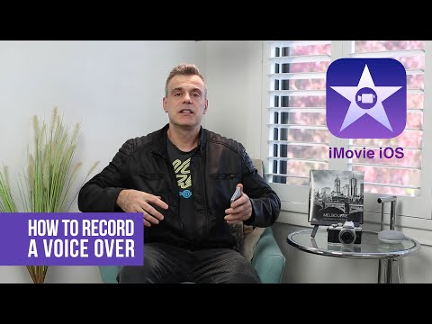 How to add a voice over on iMovie for iOS