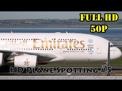 20+ MINUTES - HD Plane Spotting #5 | Auckland Airport AKL/NZAA